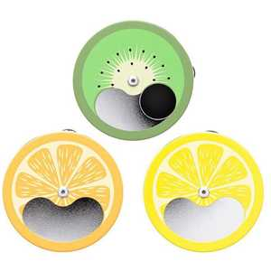 ATOMIC POCKET ASHTRAY FRUITS (X12)