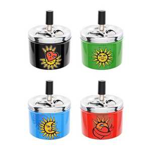 ATOMIC SPINNING ASHTRAY TATTOO (X6)