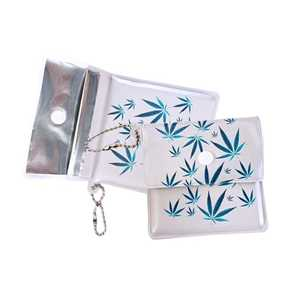 BELBOX EVA POCKET ASHTRAY BLUE LEAF (X10)