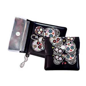 BELBOX EVA POCKET ASHTRAY SKULLS (X10)