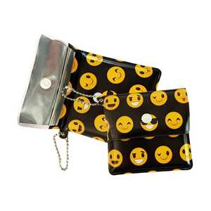 BELBOX EVA POCKET ASHTRAY SMILEY (X10)