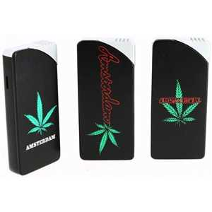 BELFLAM LIGHTER SLIDE AMSTERDAM & LEAF (X24)