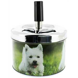 BELFLAM SPINNING ASHTRAY DOGGY II