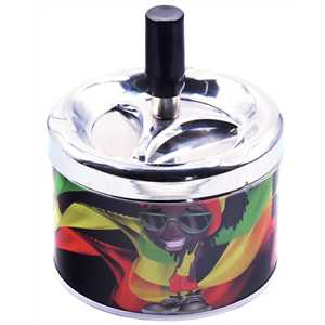BELFLAM SPINNING ASHTRAY RASTAMAN