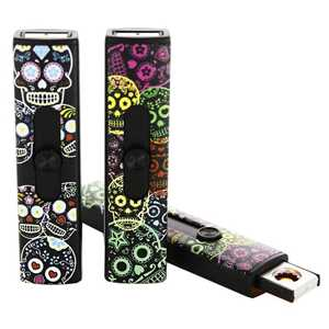 BELFLAM USB LIGHTER SKULLS (X20)
