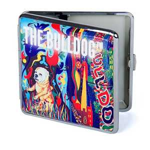 BULLDOG 20 CIG. METAL CASE 85mm ART (X8)
