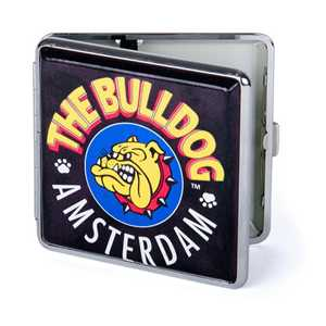 BULLDOG 20 CIG. METAL CASE 85mm LOGO (X8)