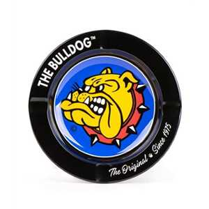 BULLDOG BLACK METAL ORIGINAL ASHTRAY