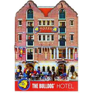 BULLDOG MAGNET THE HOTEL