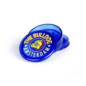 BULLDOG PLASTIC GRINDER TC BLUE 3 PARTS (x12)