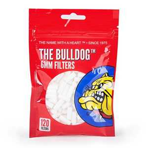 BULLDOG SILM FILTERS TIPS 6MM (34x120)