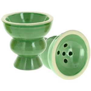CERAMIC TOP SMALL & MEDIUM GREEN COLOR