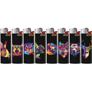 LIGHTERS MAXI BIC J26 FIRST ANIMAL DESIGNS (X50)