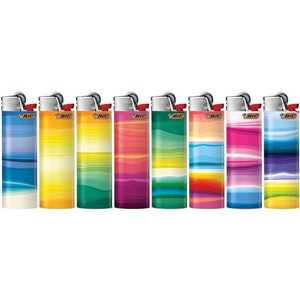 LIGHTERS MAXI BIC J26 STRATA DESIGNS (X50)